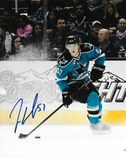 Tommy Wingels Chicago Blackhawks signed San Jose Sharks 8x10 photo autographed 2