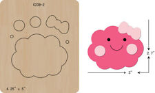 New Cute clouds  Wooden die fit Big Shot  Scrapbooking C-238-2