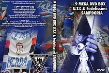 9 DVD BOX ULTRAS SAMPDORIA (ULTRAS, UTC, fedelissimi, GRADINATA SUD, SAMP, DORIA)