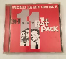 The Rat Pack -The Best Of - CD Album Frank Sinatra Dean Martin Sammy Davis Jr