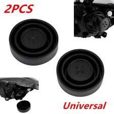 2Pcs Universal Seal Cap Dust Cover 5 Sizes for Car Headlight LED HID Lamp Latest