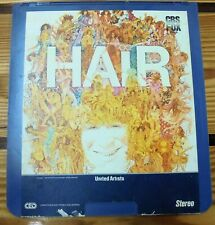 HAIR  CED   (Capacitance Electronic Disc) Video disc