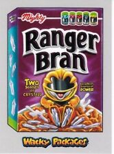 2018 WACKY PACKAGES GO TO THE MOVIES SILVER BORDER RANGER BRAN 47/50