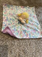 Carters Baby Doll Blanket Lovey, Purple, Floral