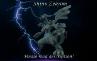 Shiny Zekrom 6IV - Pokemon X/Y OR/AS S/M US/UM Sword/Shield