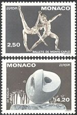 Monaco 1993 Europa/Ballet/Sculpture/Dance/Arts/Artists/Music/Dancing 2v (n34422)