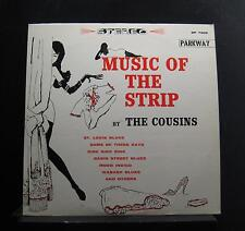 The Cousins - Music Of The Strip LP VG+ SP 7005 Stereo 1960 USA Vinyl Record