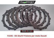 """F1545 - KIT DISCHI FRIZIONE """"NewFren"""" per Ducati 999 998cc dal 2003 al 2006"""