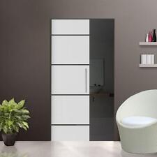 """Glass Single sliding Pocket Door System  full set  design """"FIVE"""" 840 mm"""