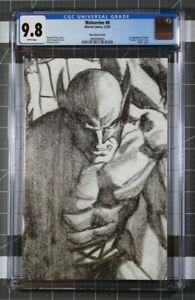 Wolverine #6 CGC 9.8 Alex Ross Timeless Sketch 1:100 Virgin Variant 1st Solem