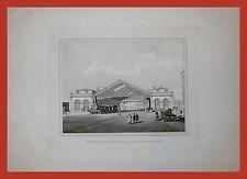 Stazione della Ferrovia di Civitavecchia 1880 Opera dei Pontefici Rodiani