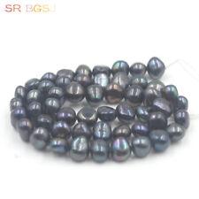 """Natural de agua dulce perlas cultivadas Heishi espaciador granos para joyería haciendo 15/""""hágalo usted mismo"""