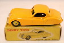 Dinky Toys 157 Jaguar XK120 Coupe yellow very near mint in box all original