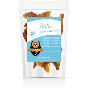 Darby's Dog Bakery & Deli Fish Jerky seafood meat chew dog treats 100g