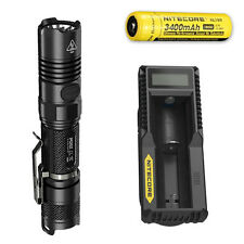 Nitecore P12GT Flashlight w/UM10 Charger & NL189 Rechargeable Battery