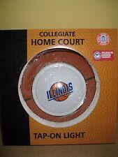Fighting Illini Basketball*Illinois NCAA College HOME COURT TAP ON LIGHT