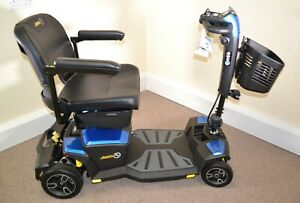 Pride Jazzy Zero Turn Scooter to navigate tight spaces ZT