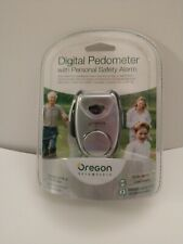 Oregon Scientific Digital Pedometer with personal safety alarm.