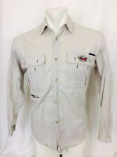 Vintage 1980's Puma Macht's MIT Qualitat Long Sleeved Men's Shirt Small
