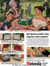 Bill Gregg Motorola Town & Country Portable Radio ESCORT Softball 1952 Print Ad