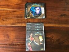 World of Warcraft (Windows/Mac, 2004) w/box Game Manual 4 Discs