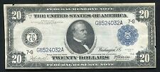 FR. 988 1914 $20 TWENTY DOLLARS FRN FEDERAL RESERVE NOTE CHICAGO, IL XF