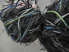 (70 €/kg): 550 g Schachenmayr Brazilia Stop & Go, Fb. 84 schwarz/blau/grün #3097