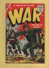War Comics #33 Russ Heath! March 1955, Marvel, 1950 Series GD/VG