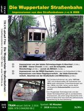 Die Meterspur- Straßenbahn von Wuppertal, die Bergischen Museumsbahnen BMB u.v.m