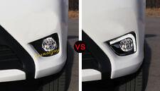 Front Fog Light Lamp DRL Daytime Running Lights 2pcs For Toyota Vios 2014-2016