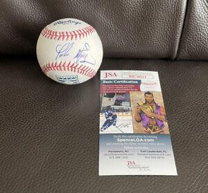 Pedro Martinez Signed Official Hall Of Fame Baseball + JSA Coa Boston Red Sox