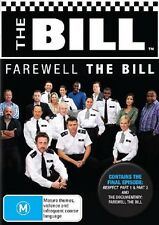 THE BILL : ITV SERIES - FAREWELL THE BILL  - DVD - UK Compatible -Sealed