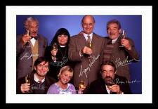 THE VICAR OF DIBLEY AUTOGRAPHED SIGNED & FRAMED PP POSTER PHOTO