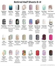 Jamberry Nail Wraps Half Sheet Retired D-H - In Stock!