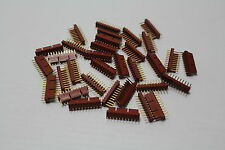 Molex 22-11-2112 Headers & Wire Housing 11 GOLD FRICTION LOCK ( lot of 33 ) New