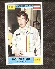 Fig. Campioni dello Sport Panini 1969-70! N.114! Rindt! Automobilismo! Nuova!