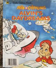 A Little Golden Book, Alvin Chipmunks, Alvin's Daydreams,   GC~ H/C   FREE POST