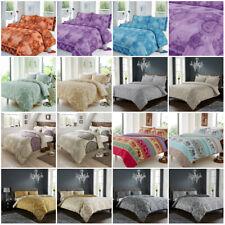 Paisley Damask Duvet Cover Bedding Quilt Luxury Bed Set Double Super King Size
