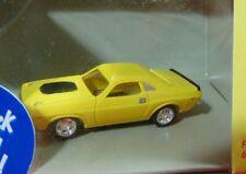 ThunderJet 500 Slot Car Body Dodge Challenger HO Scale Johnny Lightning Yellow