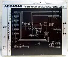 ADC4346 ANALOGIC 16 BIT HIGH SPEED SAMPLING ADC B11-3317 REV 0