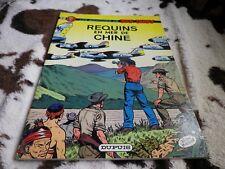 BUCK DANNY REQUIN EN MER DE CHINE DUPUIS 1980 SOUPLE TRES BON ETAT voir photos