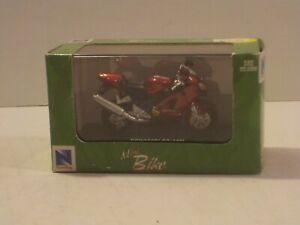 N New Ray Kawasaki ZX-12R Motorcycle 1:32 Red New MISB