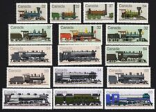 HISTORY of LOCOMOTIVES = 1983-1986 COLLECTION = CANADA MNH Complete Sets