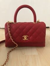 8f22466c2cd55 Chanel coco handle classic flap bag Tasche