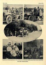 Die dritte Herkomerfahrt Start Willy Pöge Herzog Ludwig in Bayern Miß Lewit 1907