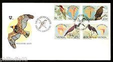 Venda 1983 Migratory Birds Maps Eagle Strok Fauna Wildlife Sc 100-3 FDC # 16480