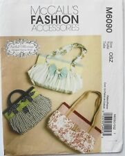 McCalls Fashion 6090 Artful Offerings Misses Bags Sacs A Main Sewing Pattern