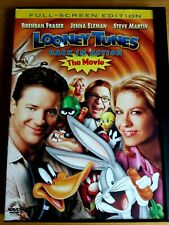 Looney Tunes - Back in Action (DVD, 2004, Full Frame Steve Martin Brendan Fraser