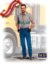 Truckers Series. Stan (Long Haul) Thompson Plastic Figures 1/24 Master Box 24042