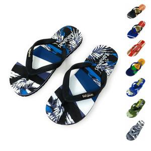 Bahamas Mens Flip Flops Premium Comfort Thong Soles Sandals Slippers Beach Pool